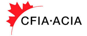 ACIA - CFIA - agence canadienne d'inspection des aliments - Canadian Food Inspection Agency - www.inspection.gc.ca